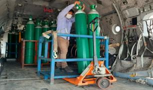Loreto recibió 130 balones de oxígeno para reforzar las atenciones a infectados por Covid-19