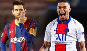 """Kylian Mbappé """"El nuevo rey de Europa"""" tras golear al Barcelona"""