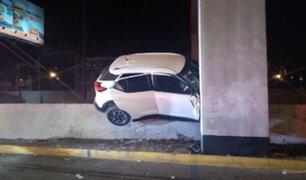 SMP: tres heridos de gravedad tras despiste y choque de camioneta