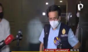 'Vacunagate': Fiscalía realizó diligencias en Universidad Cayetano Heredia