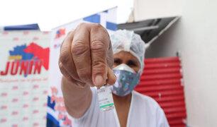 Junín: padrón de vacunación incluía fallecidos y personal en trabajo remoto