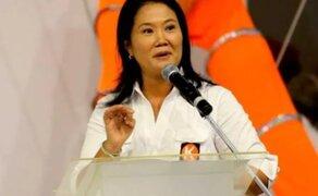Elecciones 2021: PJ prohibió a Keiko Fujimori viajar al interior del país