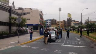 SMP: Delincuentes asaltan banco a plena luz del día