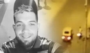 SJM: asesinan a extranjero repartidor por delivery de 15 balazos