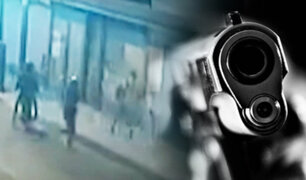 Asaltan a balazos a dos jóvenes en Chorrillos