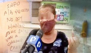 Vecinos de El Agustino denuncian que viven bajo amenaza de muerte