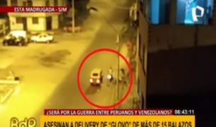 SJM: terror se apodera de Av. Los Álamos tras crimen de repartidor extranjero