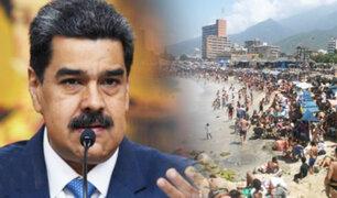 Venezuela: miles de personas concurrieron a las playas de La Guaira en plena pandemia
