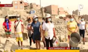 Hambre y pandemia: vecinos de AH Barbadillo Alto de Ate llevan casi 20 años pidiendo ayuda