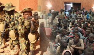 Grupo armado secuestró a centenares de estudiantes en Nigeria