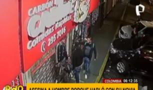Colombia: matan a hombre de un disparo en puerta de local