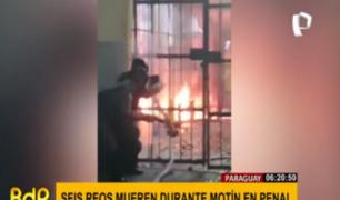 Paraguay: motín en cárcel de Tacumbu deja seis muertos