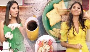Aprenda a preparar un Desayuno-Power con Pamela Acosta y Claudia Chiroque