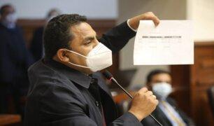 Vocero de Podemos Perú niega que algún integrante haya sido vacunado irregularmente