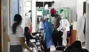 Puerto Maldonado: ofrecen ayuda a haitianos y luego fueron llevados nuevamente a la frontera