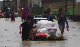 Pucallpa: decenas de vivienda inundadas por intensas lluvias