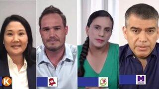 Reactivación económica: Las propuestas de Fujimori, Forsyth, Mendoza y Guzmán