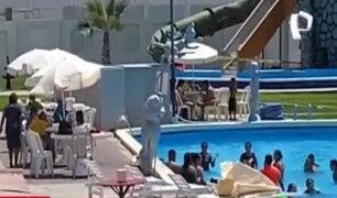 VES: multan a centro recreacional por funcionamiento de piscina pese a prohibición