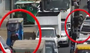 El Agustino: PNP detuvo a sujetos que robaban a pasajeros de vehículos