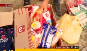 Buenos Días Perú brindó ayuda a AH 'Hermoso Huascarán' en Puente Piedra