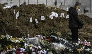 Portugal: cementerios colapsan ante incremento de fallecidos por pandemia de Covid-19