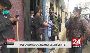 Juliaca: vecinos enardecidos casi linchan a un extranjero acusado de robar