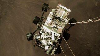 NASA: El rover Perseverance envió sus primeras fotos a color de Marte