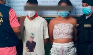 Trujillo: intervienen pareja de adolescentes que tenía en su poder más de 5 kilos de marihuana