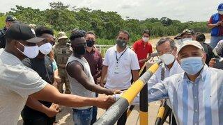 Migrantes haitianos piden disculpas por su abrupto ingreso al país