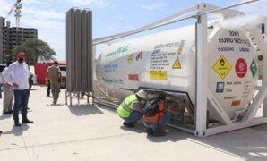 Primeras 20 toneladas de oxígeno de Chile llegarían esta semana