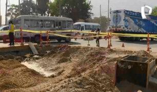 La Molina: vecinos denuncian demora en culminación de obra