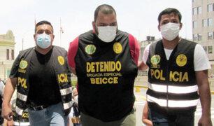 SJL: capturan sicario venezolano que era intensamente buscado por dos crímenes en su país