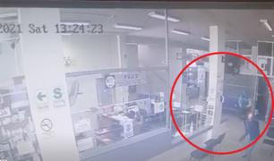 SJL: recluso escapa cuando fue llevado a clínica y desata balacera