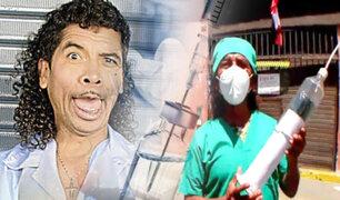 """El Dr. jeringa al rescate: Cachay llega a poner orden en tiempos del """"Vacunagate"""""""