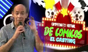 Empieza el casting del primer Campeonato Virtual de Cómicos