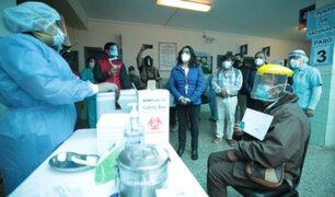 """Premier Violeta Bermúdez participó en instalación del """"Comando regional de vacunación"""" en Cusco"""