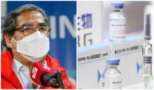 Cancillería sobre vacunagate: Minsa se encargó de traer las 2 mil dosis adicionales