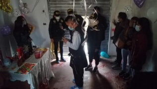 Huancavelica: once personas celebraban cumpleaños pese a restricciones por Covid-19