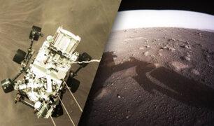 Perseverance revela las primeras imágenes del planeta Marte a color