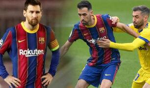 Barcelona empata 1-1 con el Cádiz por LaLiga española