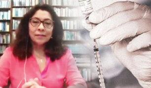 """Violeta Bermúdez: """"Quienes han cometido hechos irregulares deben ser sancionados"""""""
