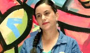 """Verónika Mendoza critica a Osito Lima: """"No me gusta que se aproveche de la gente"""""""