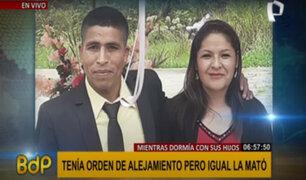 Feminicidio en Ventanilla: sujeto que asesinó exconviviente tenía orden de alejamiento