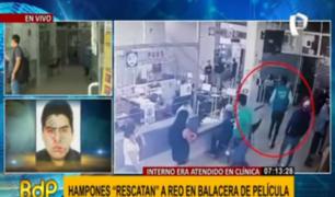 SJL: temor tras balacera desata por delincuentes en clínica
