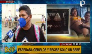 Mujer esperaba gemelos y solo le entregaron un bebé en antigua Maternidad de Lima
