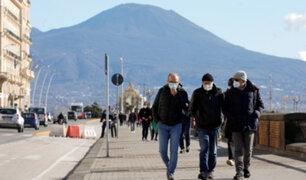 Italia: 50% de casos de contagio son por variantes del Covid-19