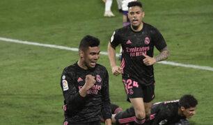 Real Madrid ganó 1-0 a Valladolid y se acerca al líder de LaLiga Santander