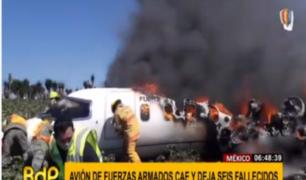 Accidentes aéreos enlutan a México y Nigeria