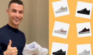 CR7 lanza su línea de zapatillas que fans pueden personalizar