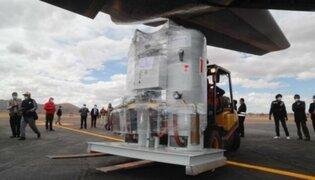 Primeras 40 toneladas de oxígeno procedentes de Chile llegan este fin de semana